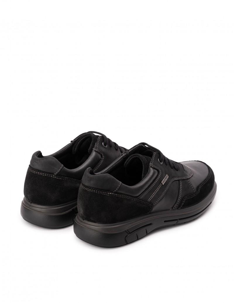 Zapatos waterproof hombre negros