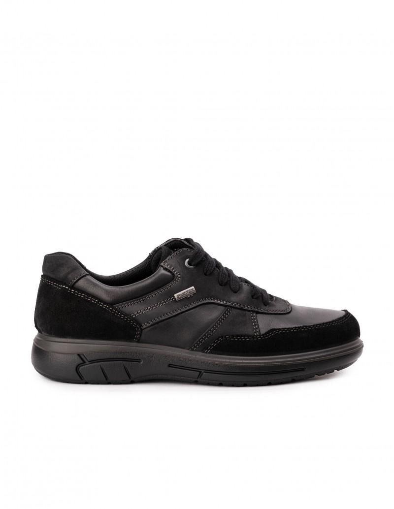 Zapatos Impermeables Cordones Negro