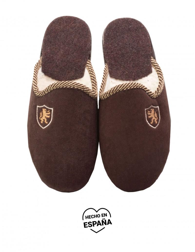 Zapatillas Casa Hombre Marrones