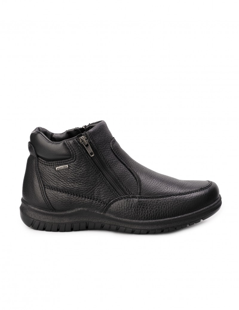 Botines Impermeables Cremallera Ancho Especial