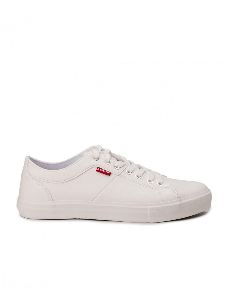 LEVIS Zapatillas Blancas Piel Sintética