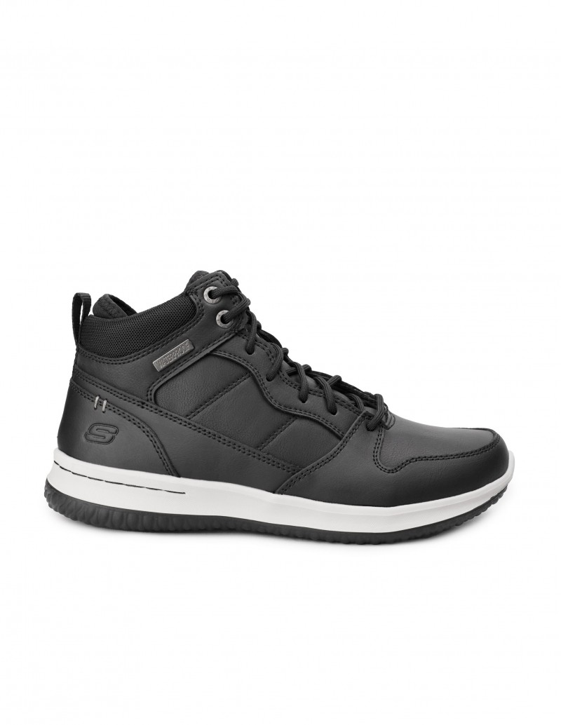SKECHERS Botines Impermeables Negros