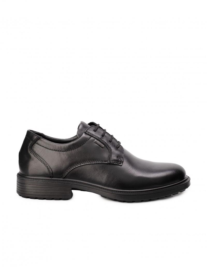 Zapatos Impermeables Piel Negro