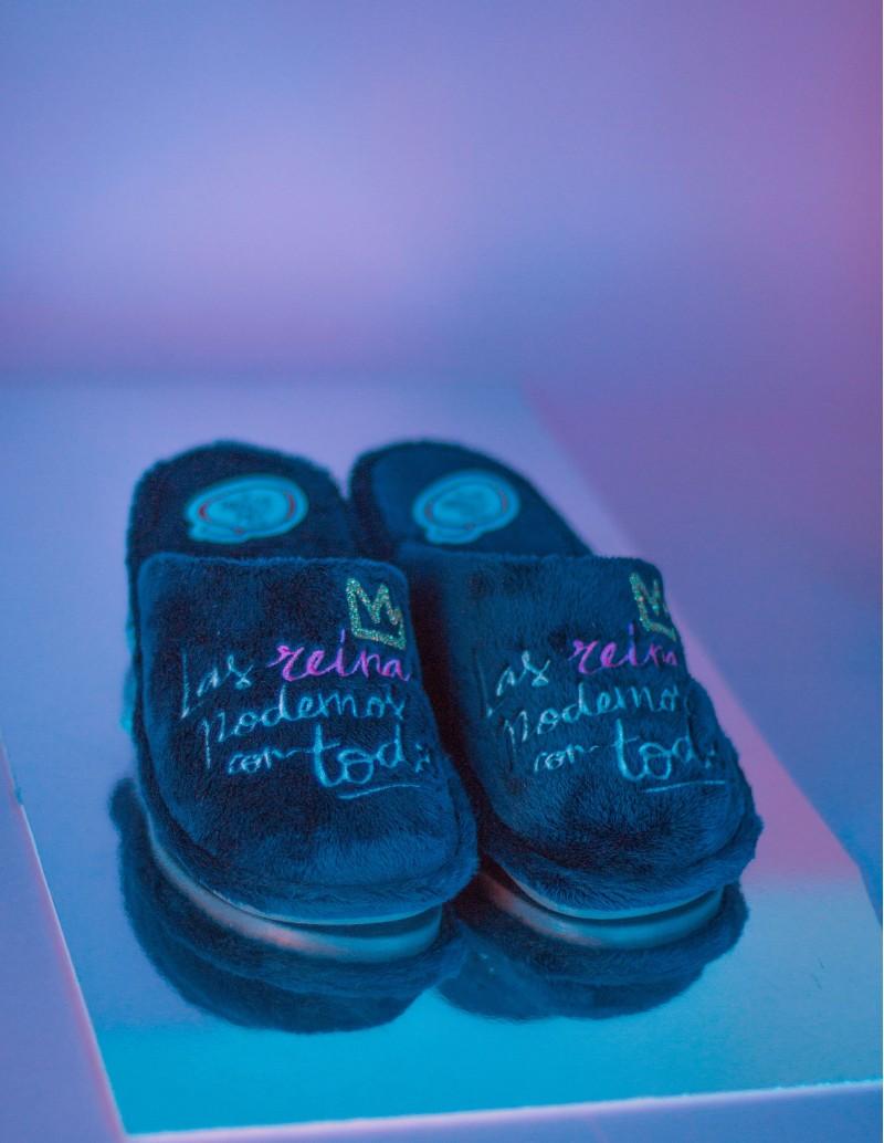 zapatillas casa originales mensaje