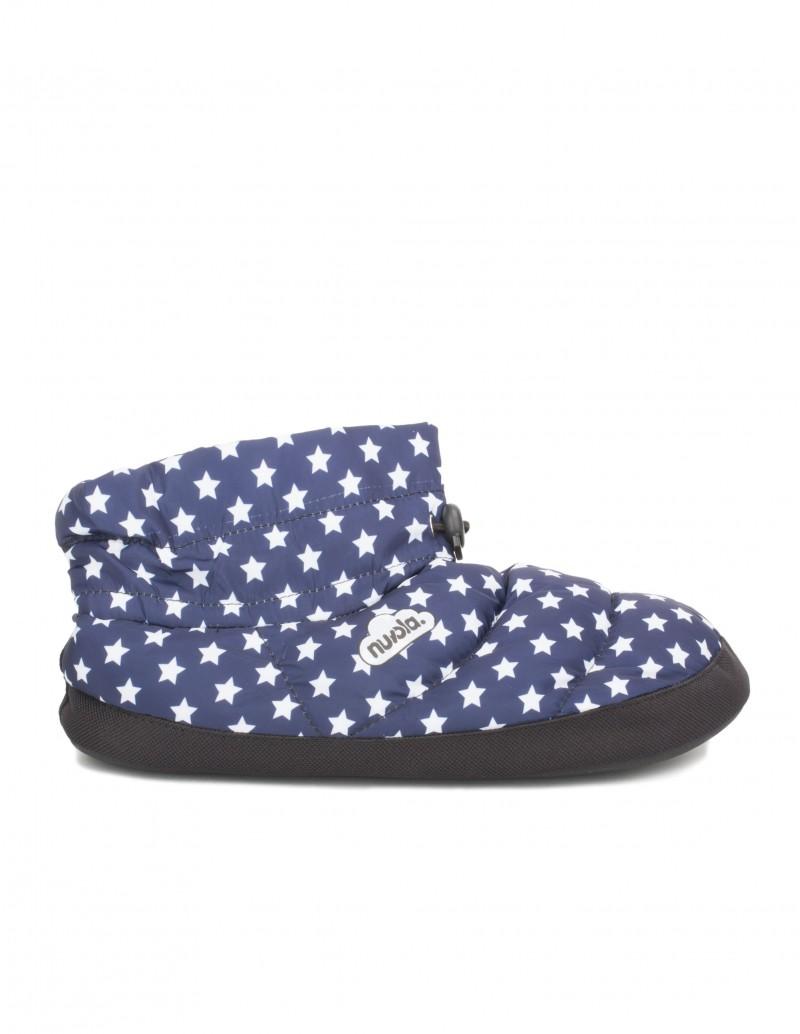 Zapatillas de Casa Bota Acolchada Estrellas