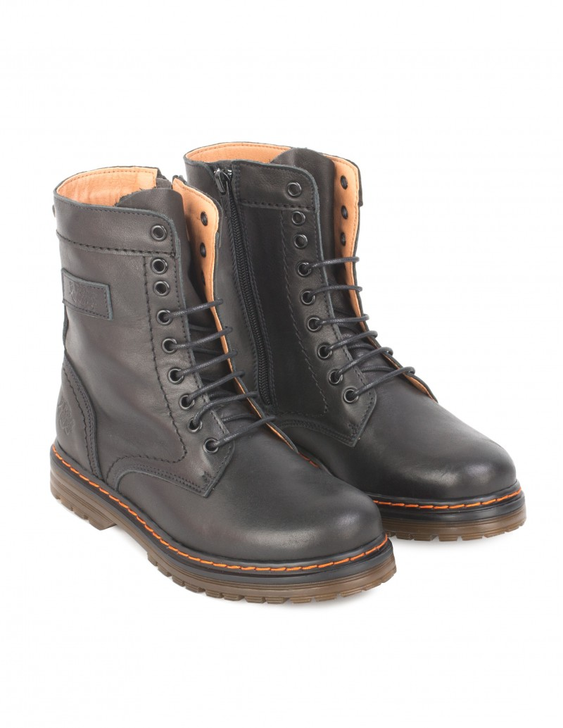 botas militar mujer planas