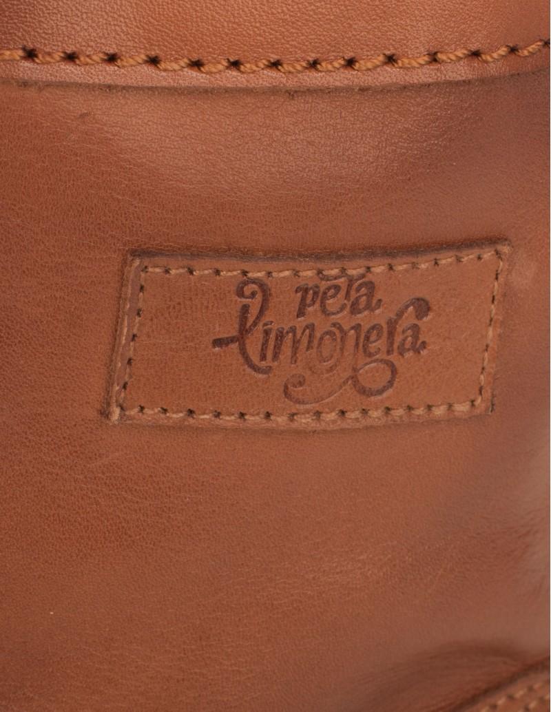 botas marrones piel marrón pera limonera
