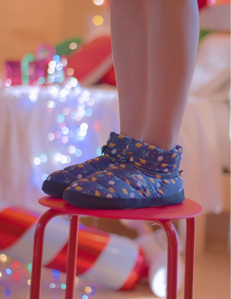 zapatillas casa acolchadas estampadas