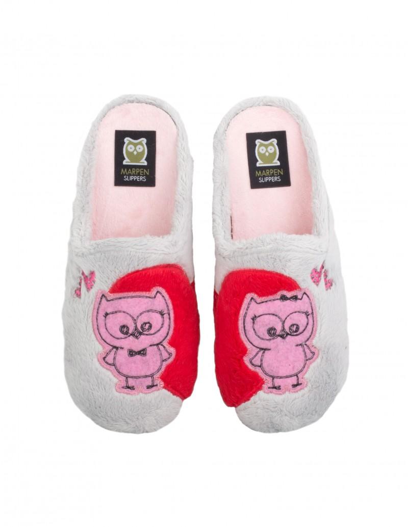 Zapatillas Casa Corazón Mujer