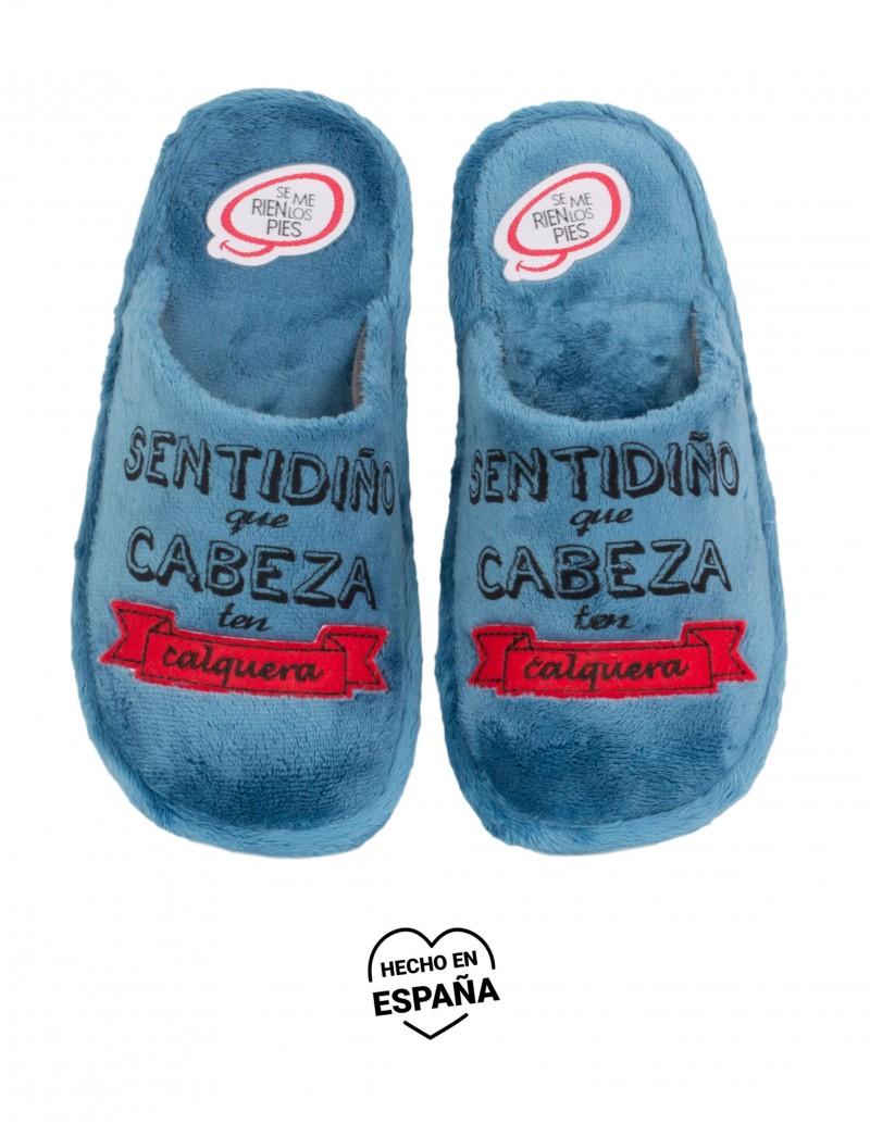 SE ME RÍEN LOS PIES Zapatillas Sentidiño Azul