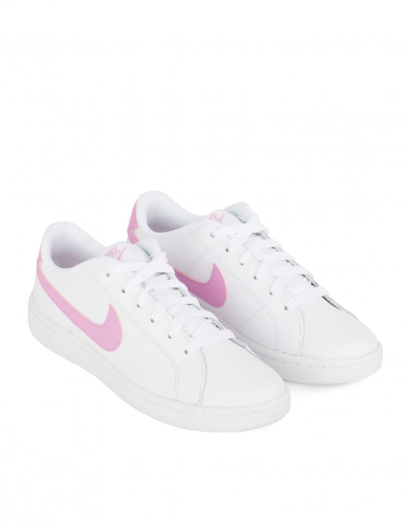 Nike Court Royale 2 Blanco y Rosa