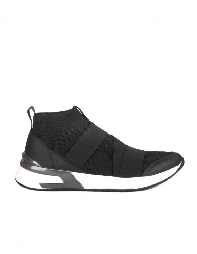 MUSTANG Zapatillas Calcetín Elásticos Negras