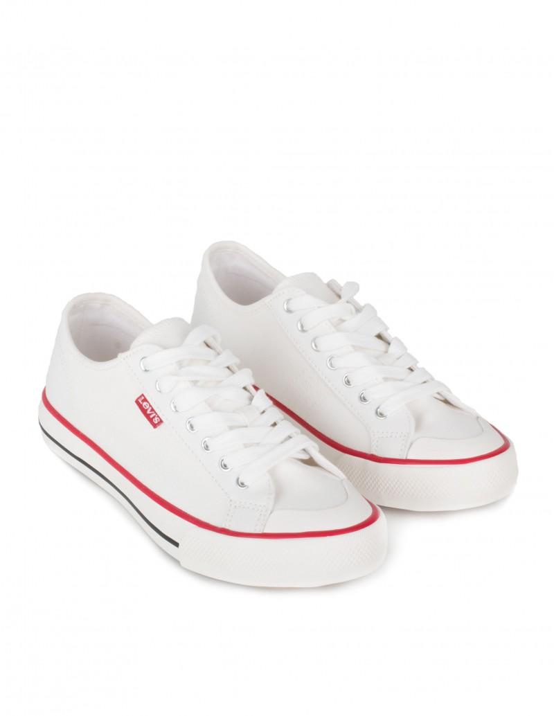 Zapatillas Lona Blancas Hombre