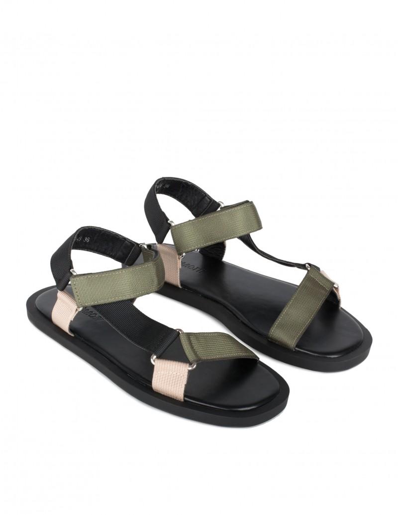 Sandalias Velcro Mujer