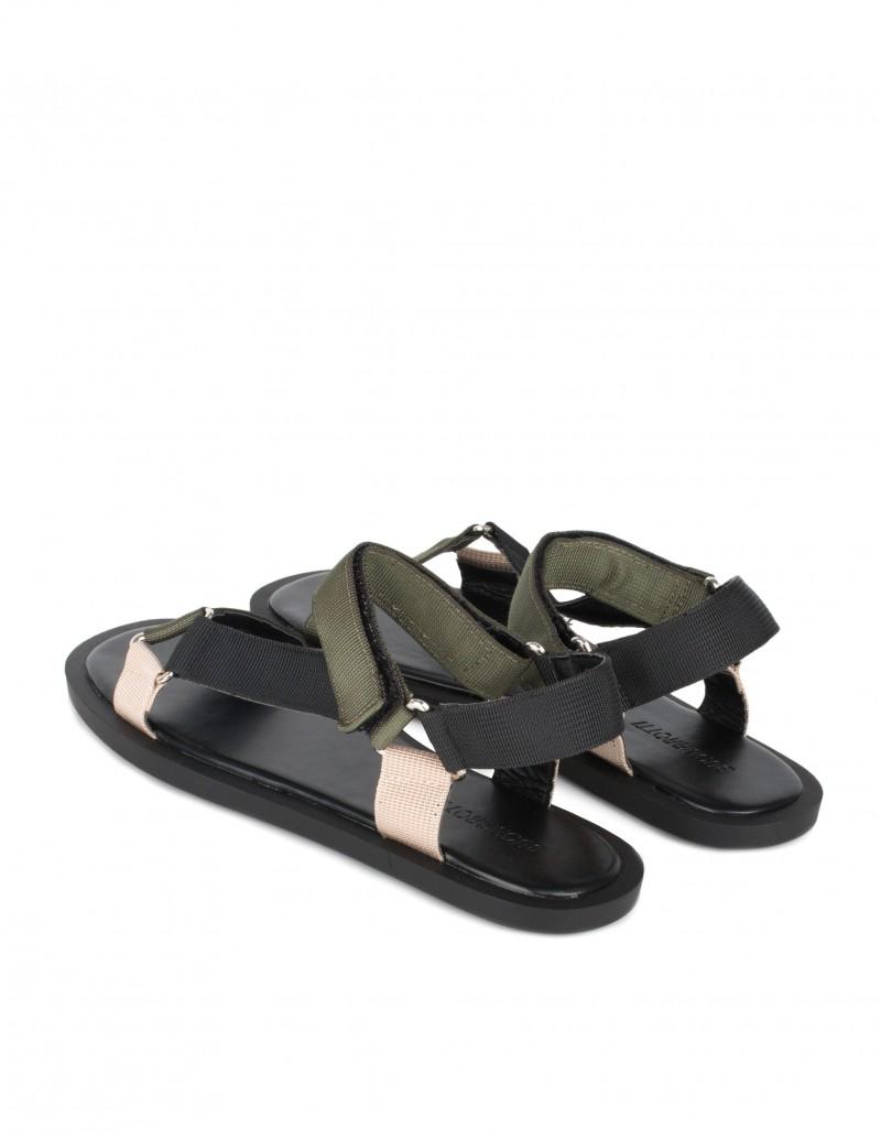 sandalias outdoor velcro mujer