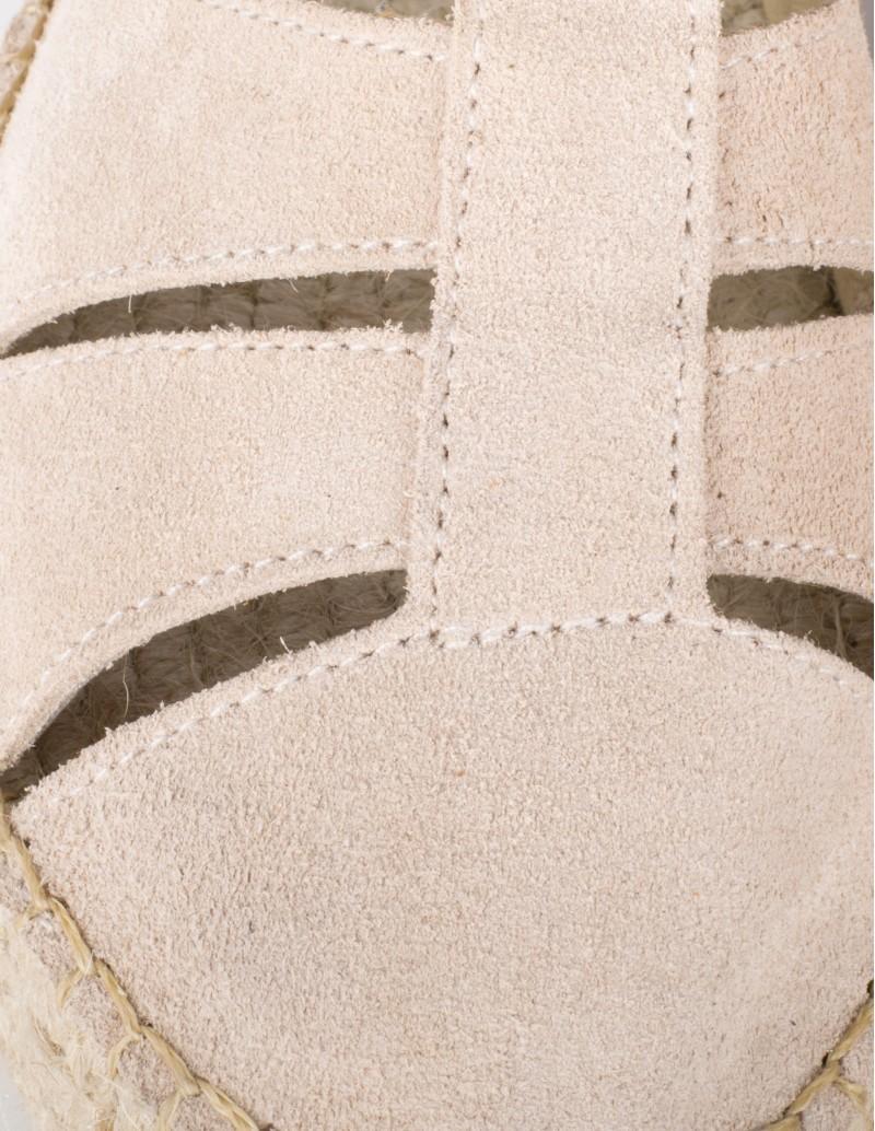 sandalias esparto beige