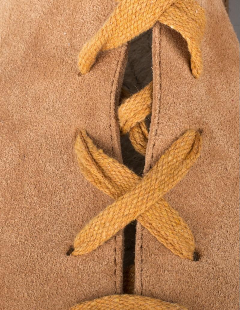 sandalias esparto serraje cuero