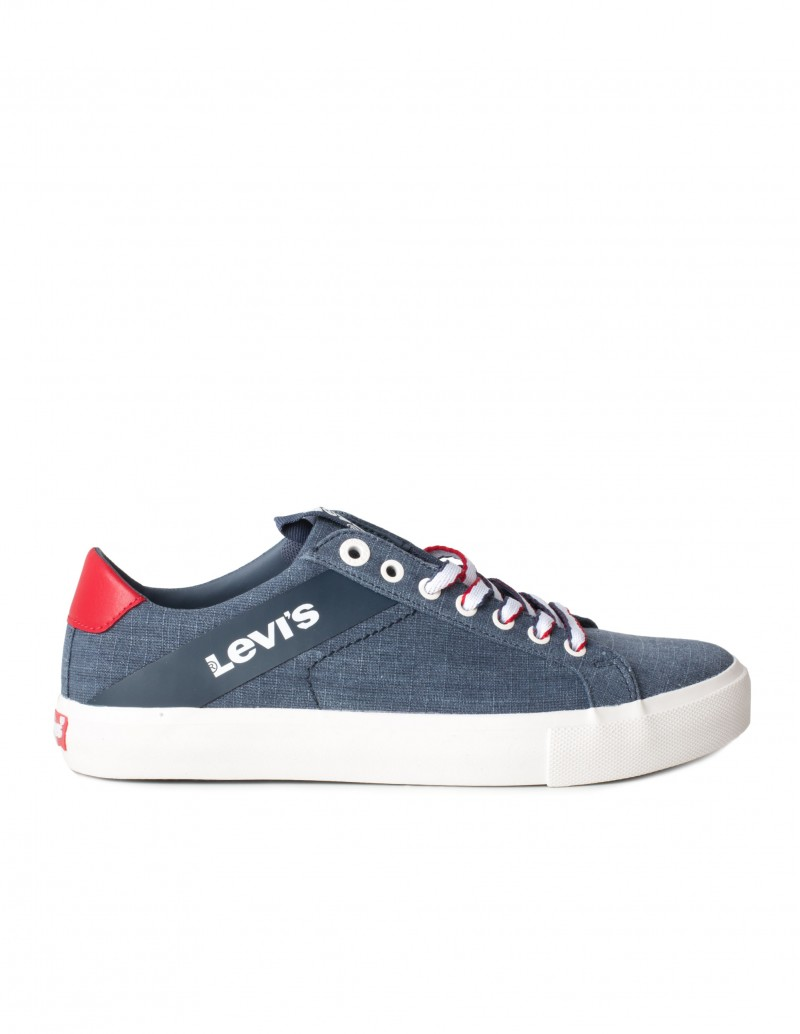 LEVIS Zapatillas Tela Denim Marino