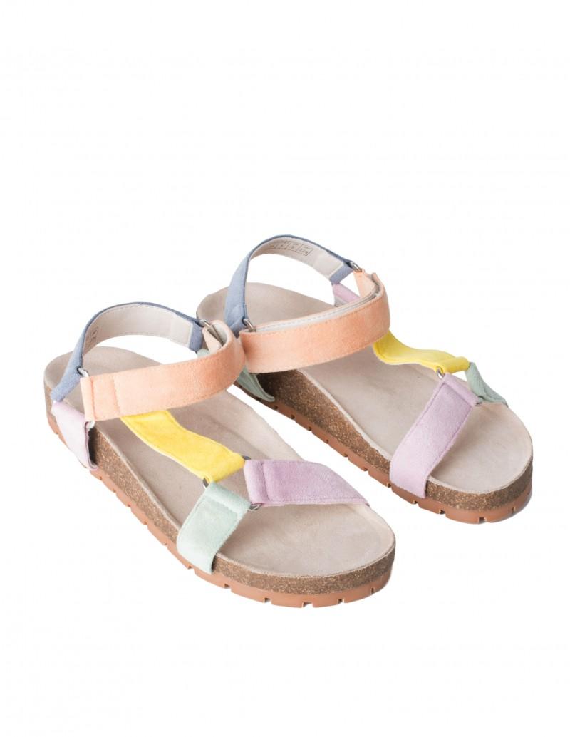 Sandalias Mujer Colores Pastel