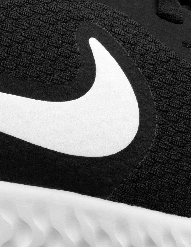 Zapatillas Nike Negras logo blanco