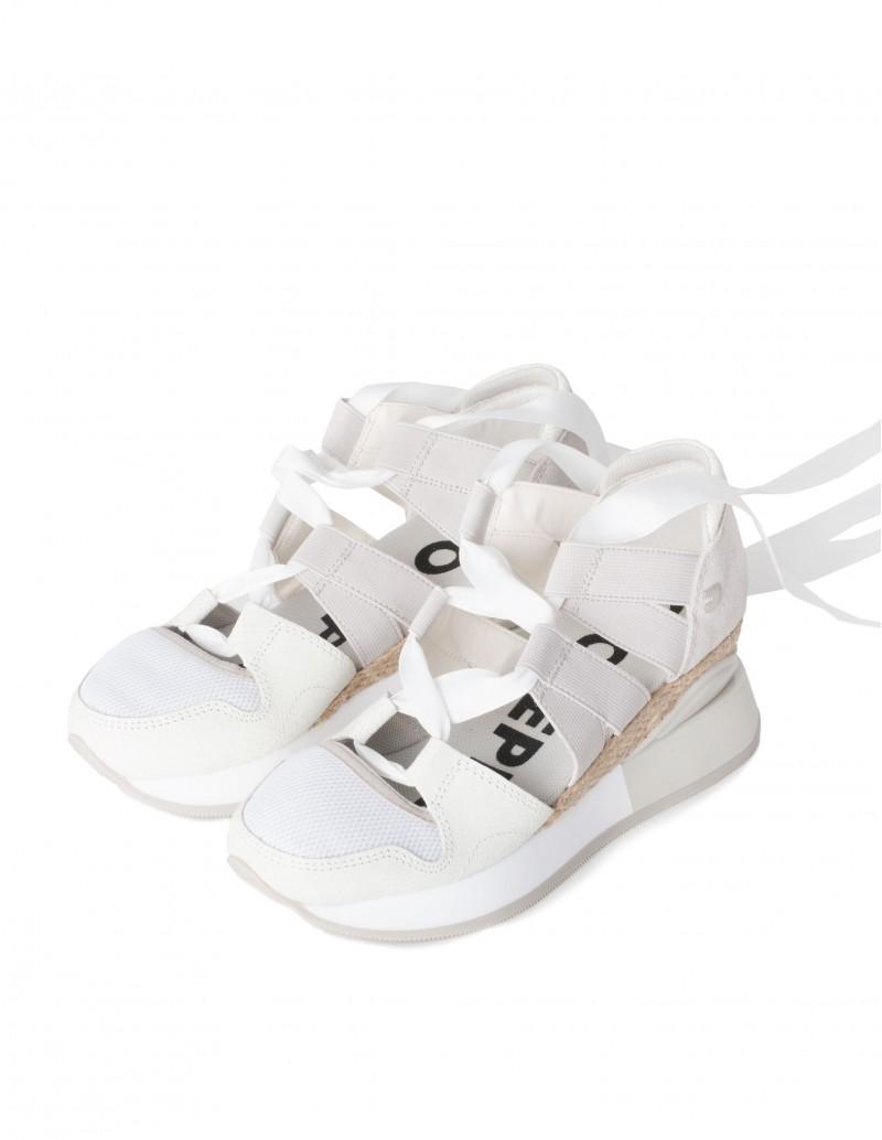 Zapatillas Cut-Out Blancas Mujer