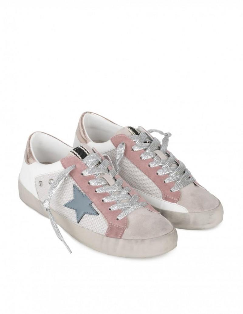 Zapatillas Estrella Rosas