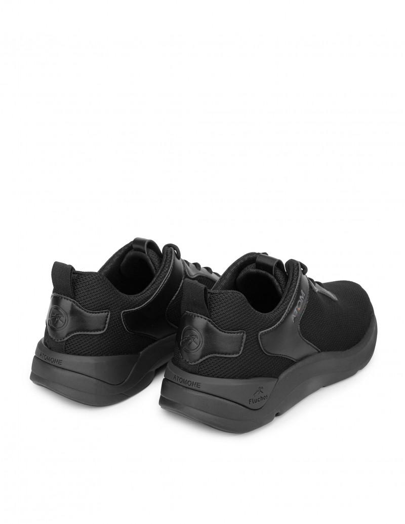 Zapatillas Deportivas Alto Rendimiento Negras