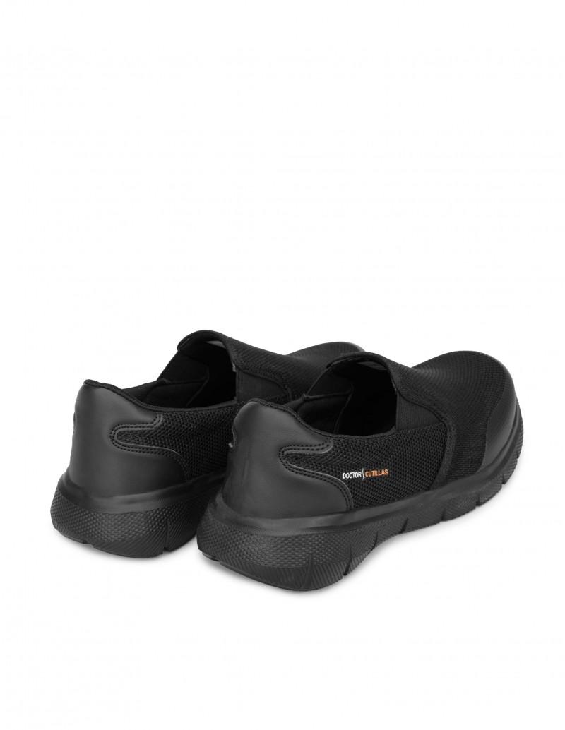 Zapatillas Sin Cordones Hombre Negras