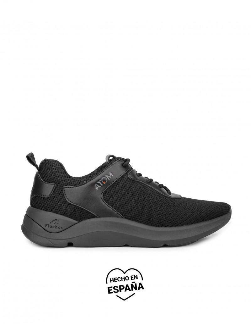FLUCHOS Zapatillas Alto Rendimiento Negras