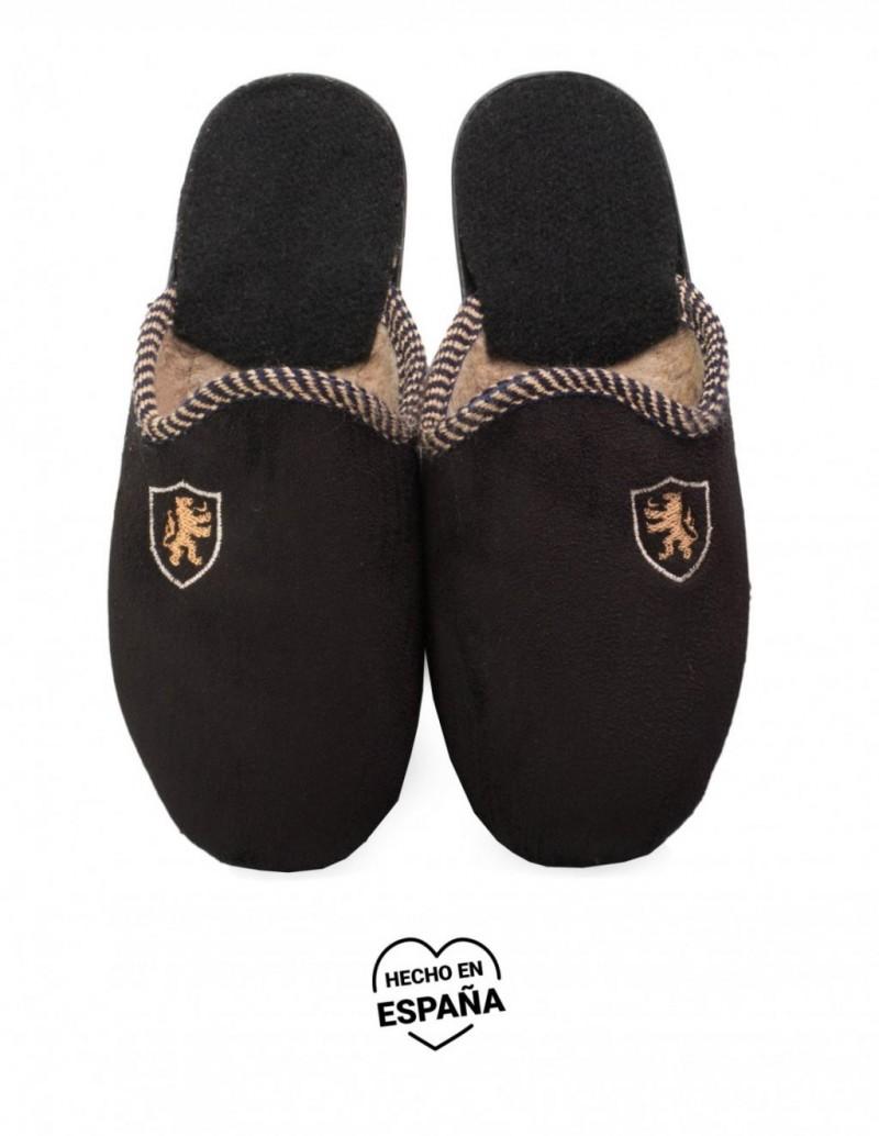 Zapatillas Casa Hombre Negras