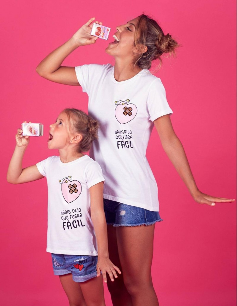 Camiseta Mini Yo Mensaje Tirita PERA LIMONERA