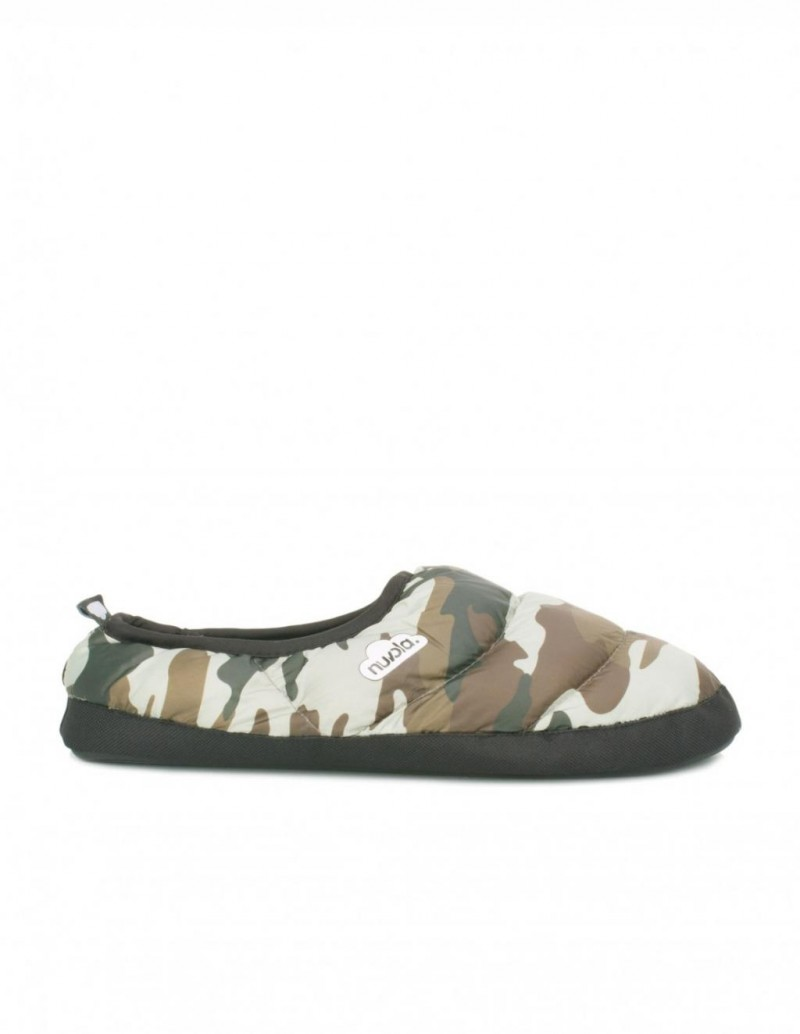 Zapatillas de Casa Acolchadas Camuflaje