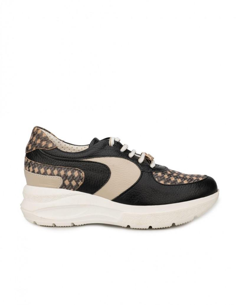 Zapatos Deportivos Plataforma Estampados