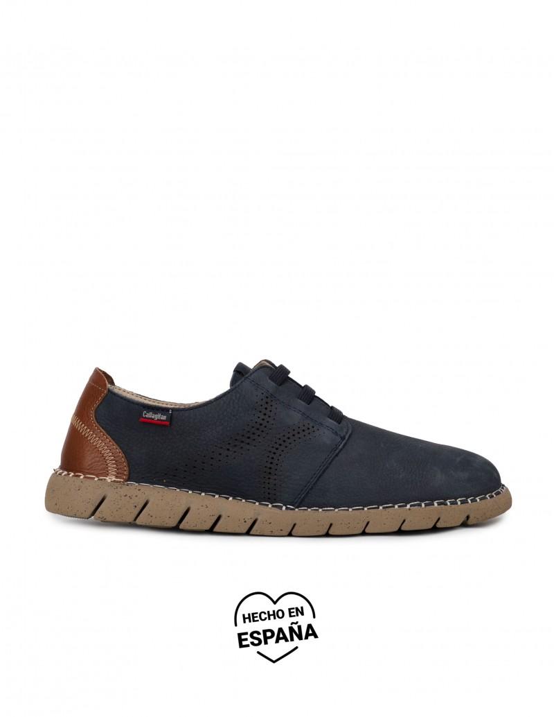 CALLAGHAN Zapatos Sport Cordones Elásticos Marino