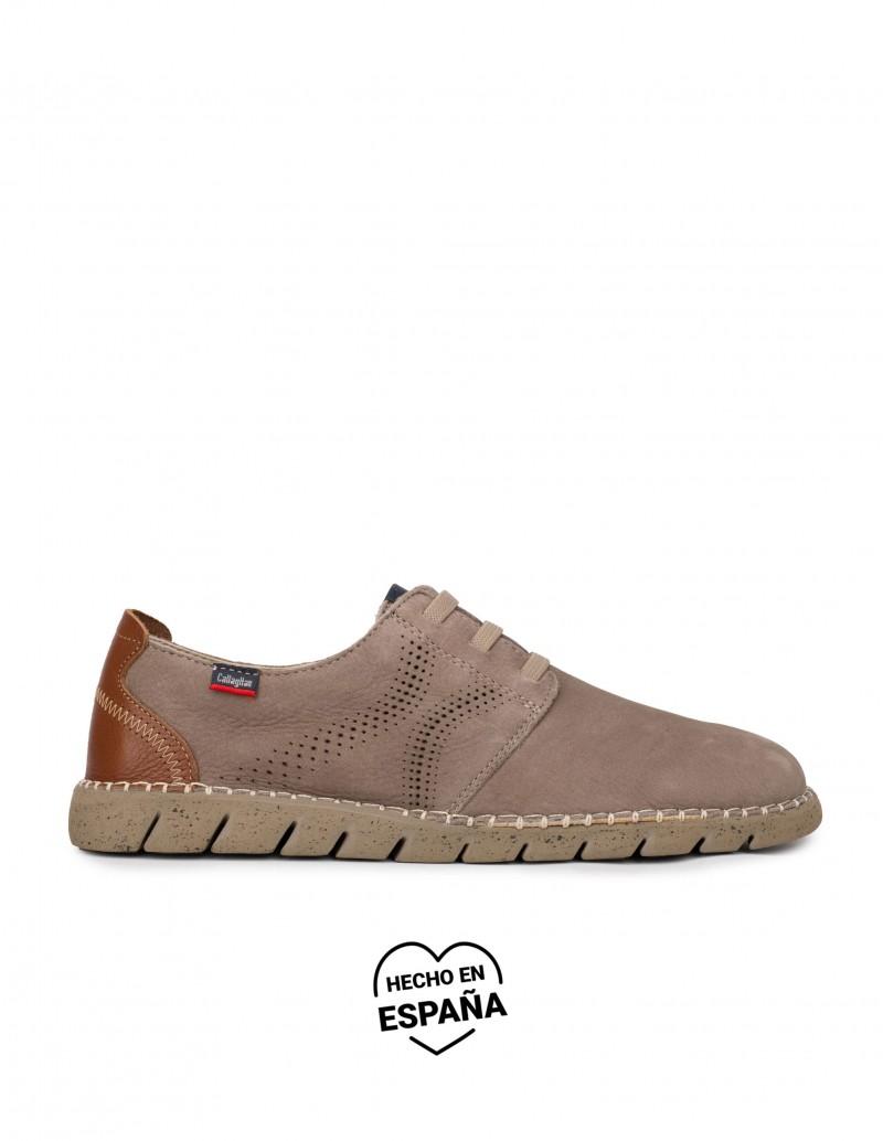 CALLAGHAN Zapatos Sport Cordones Elásticos Taupe