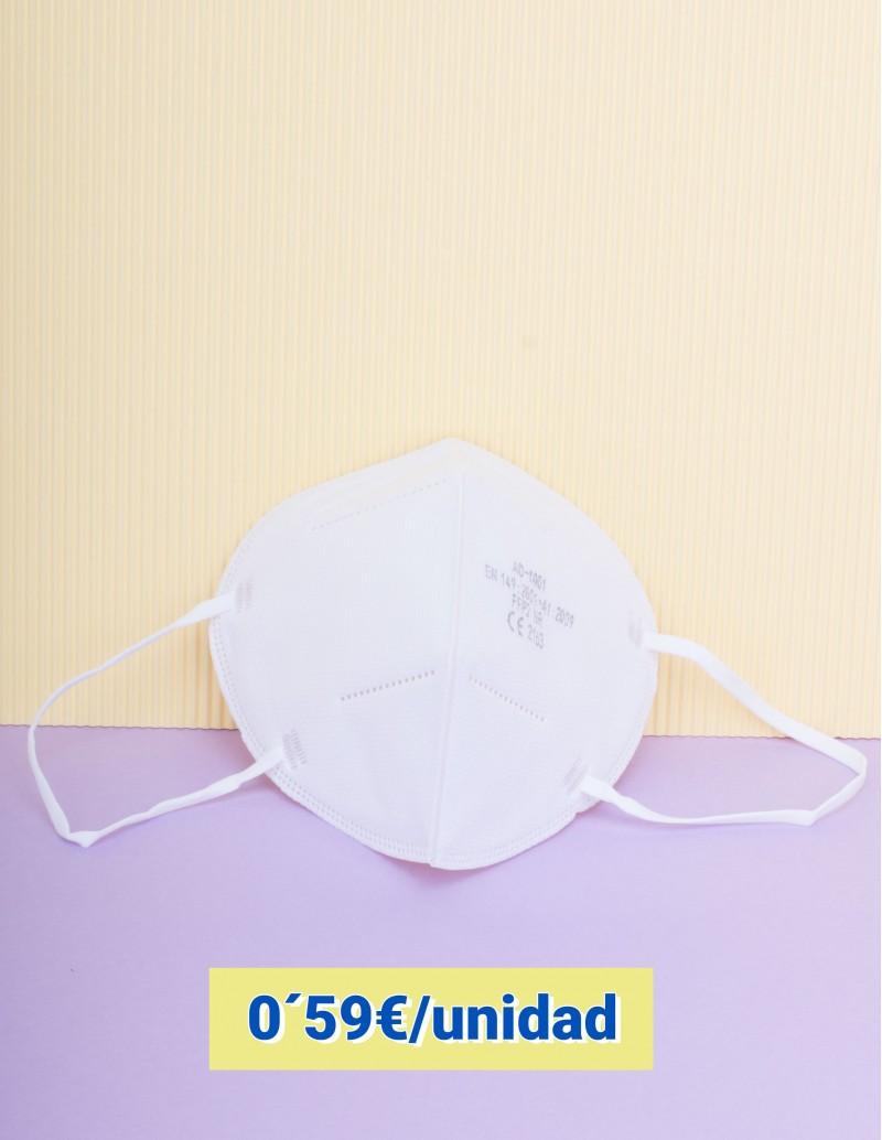 Mascarillas FFP2 blancas