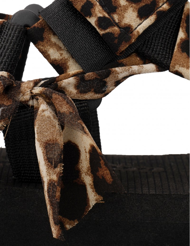 Sandalias estampado leopardo