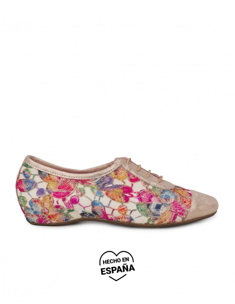 CALLAGHAN Blucher Estampado Flores Multicolor