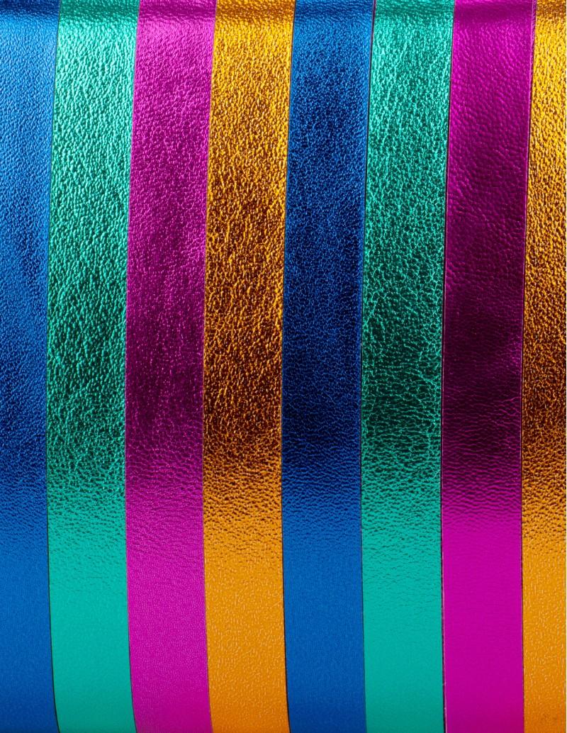Clutch Fiesta Metalizado Multicolor