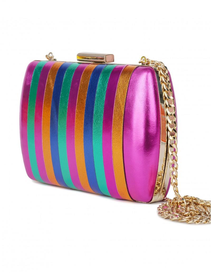 Bolso Clutch Multicolor