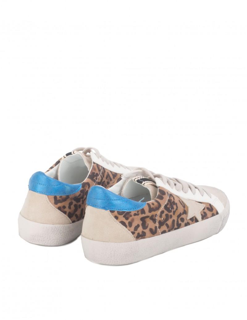 Zapatillas Leopardo con Estrella