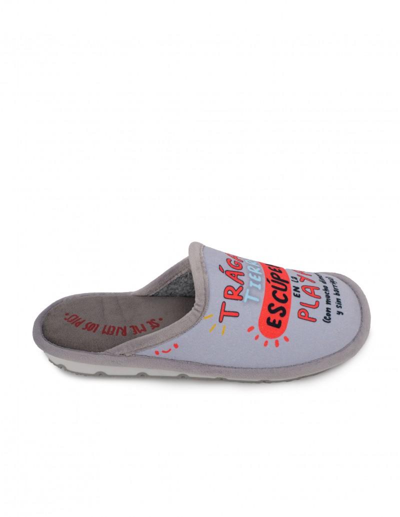 Zapatillas Casa Hombre Mensaje Playa