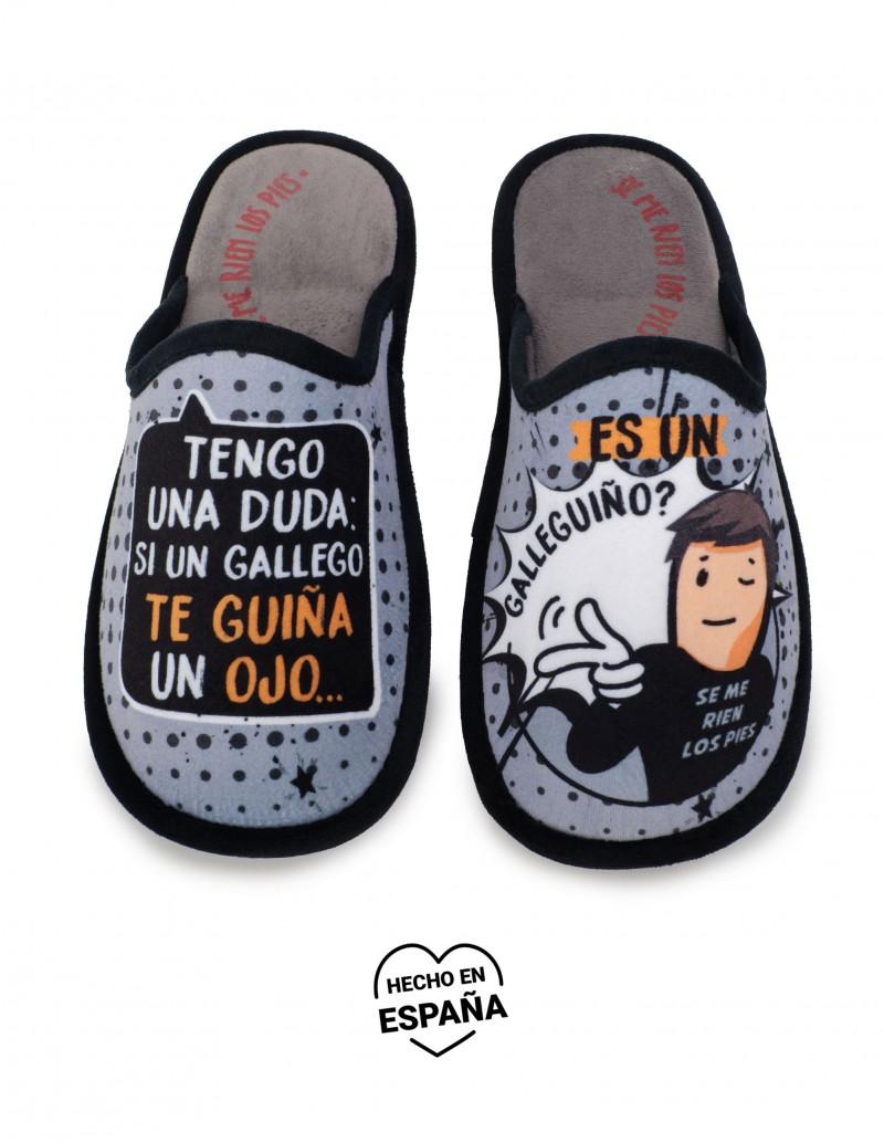 SE ME RÍEN LOS PIES Zapatillas Casa Galleguiño