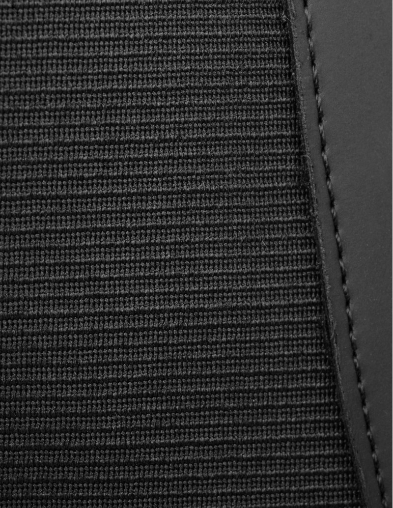 Botines Engomados Elásticos Negros detalle