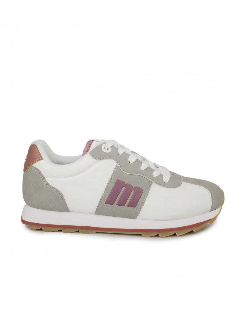 MUSTANG Sneakers Retro Blancas