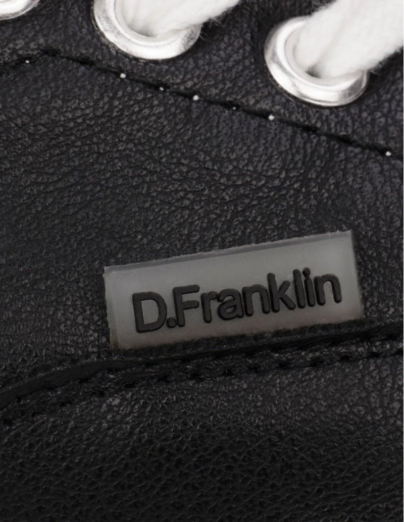 Zapatillas Polipiel Negras Dr Franklin