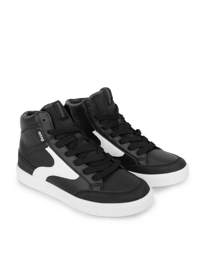 Zapatillas Altas Negras Mujer