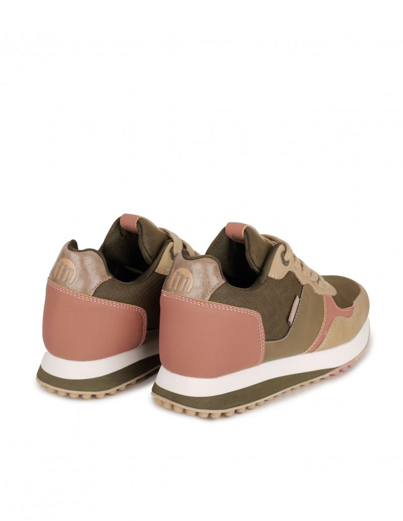 Zapatillas Mujer con Cuña Interior