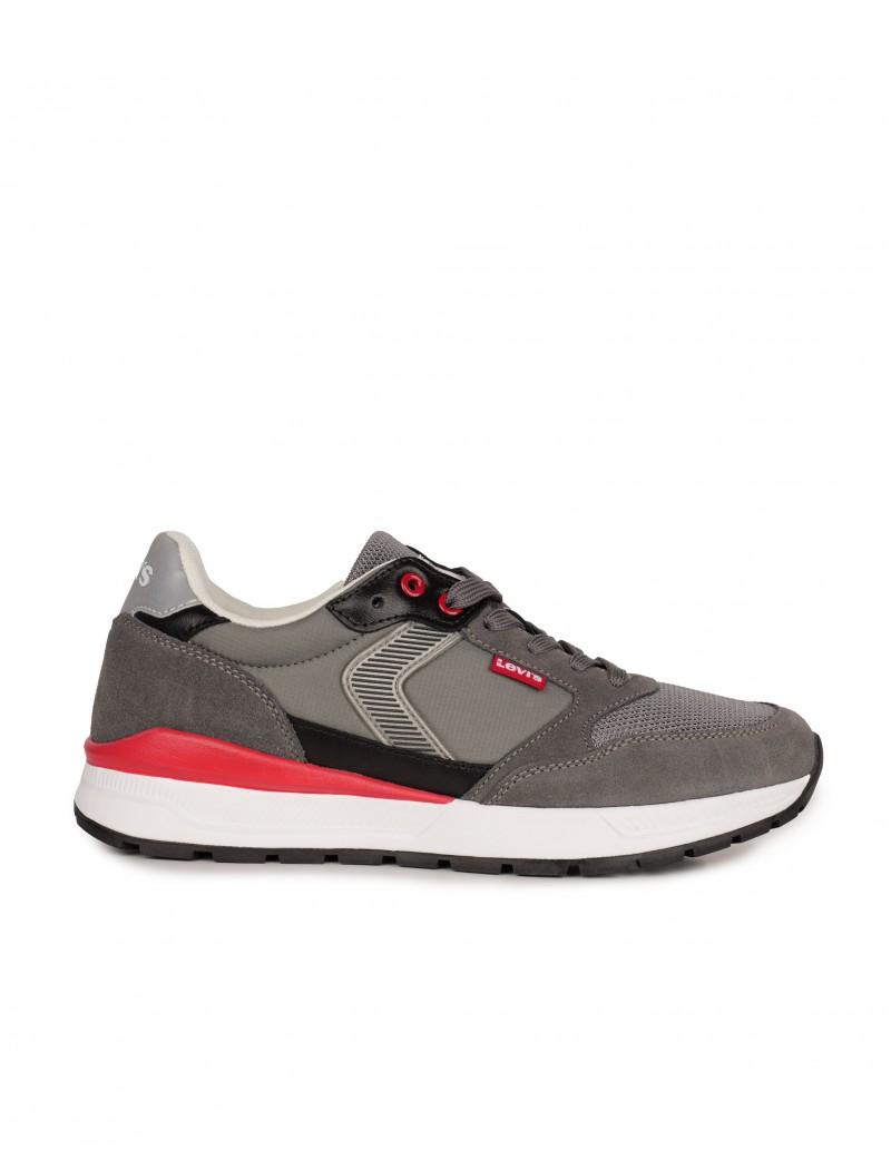 LEVIS Sneakers Serraje Grises