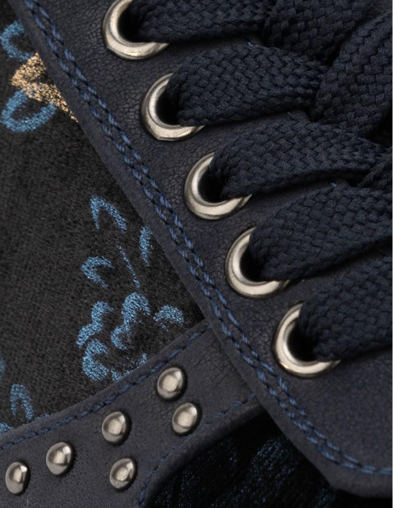 zapatillas deportivas terciopelo